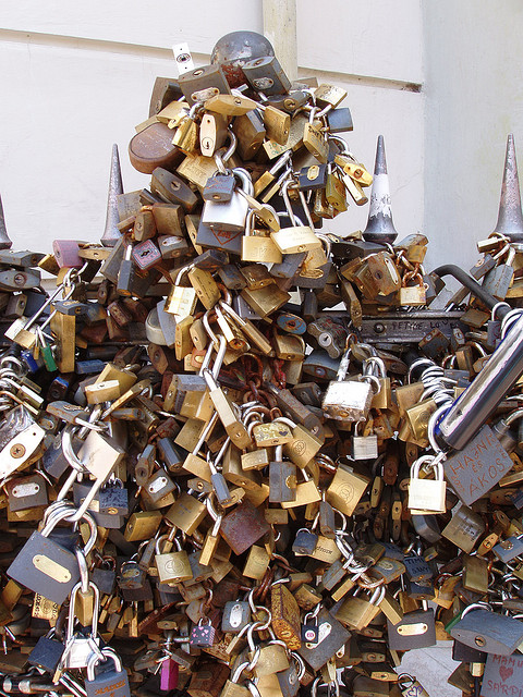 The Pécs 'Love Locks'